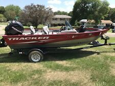 Boats For Sale-16' Red Bass Tracker Boat-Great Condition-2012