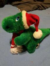 Jinglesaurus Plush Dinosaur Christmas Hat Dino Schmidt Cannon