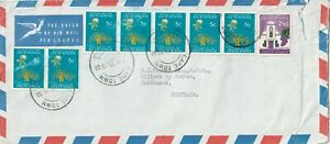 1970 South Africa oversize cover sent from Cape Town to Caithness Scotland