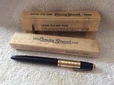 VINTAGE CONWAY STEWART WYVERN INK PEN + BOX