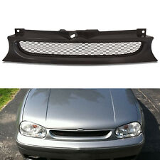 BADGELESS DEBADGED BLACK FRONT SPORT MESH GRILL GRILLE FOR VW GOLF MK4 97-04 GTI