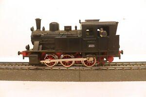 Märklin H0 3029 Tenderlok schwarz, 3-achsig, 3-Leiter-Gleichstrom   S21