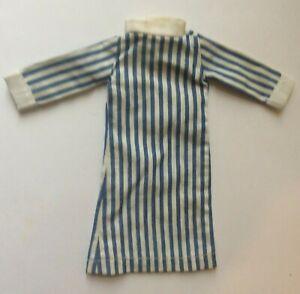 Attractive Uniform Striped Nurse Dress for a fashion doll vintage dolls clothes