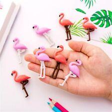 4pcs Cartoon Flamingo Modeling Erasers Kawaii Children Toys Pencil Rubbers Cute