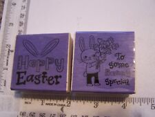 Craft Smart Happy Easter Rabbit Ears set of 2 To Some Bunny Special Flowers