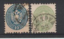 FRANCOBOLLI 1864 LOMBARDO VENETO 3+10 SOLDI Z/2500
