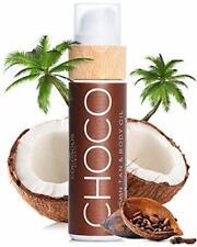 Huile bronzantes chocolat huile Bio pour un bronzage naturel Coco Amandes Douces