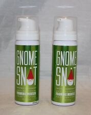2 Bath & Body Works Gnome Snot Twisted Peppermint Foaming Mousse Hand Sanitizer