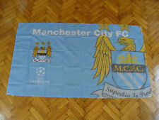 Manchester City  Soccer Flag Champions League Football Official MCFC 150x90cm.