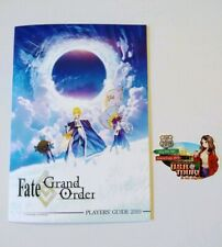 Anime Expo 2019 promo Fate Grand Order Player Guide Exclusive booklet + Sticker