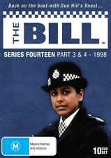 THE BILL SERIES 14, PARTS 3 to 5, 1998 (13 DVD's) region free (0) NEW & SEALED