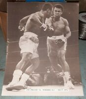 Vintage Muhammad Ali Joe Frazier Fight Poster 11x14 Photo Print March 1971