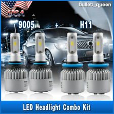 4x H11 9005 CSP LED Headlight Bulbs Hi Low Beam for RAM 1500 2500 3500 2011-2017