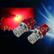 7443 High Power 3014 LED Chips Super Bright RED Brake Light Bulb