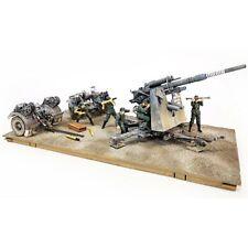 FORCES OF VALOR UN801008A German 8.8Cm 36/37 Gun With Flak 1:32 Diecast Model