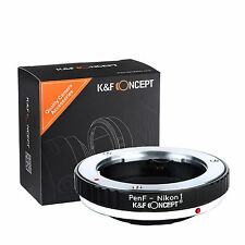 K&F Concept adapter for Olympus Pen F mount lens to Nikon 1 camera J1 V1