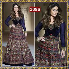 Saree bollywood designer indian pakistani wedding womens lengha blouse dress set