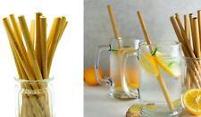 VJ Hut's Reusable 100% Natural Bamboo Drinking Straws|10pck|