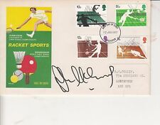 JOHN McENROE AUTOGRAPHED FIRST DAY COVER