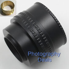Brass M52 to M42 25-55mm Adjustable Focusing Helicoid Adapter Extension Tube