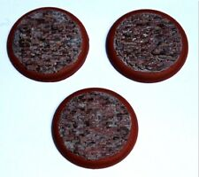 Ye Olde Road Brick 50mm Premium Rolled Shoulder Bases (3) Profane Creations