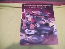 Guyette & Schmidt North American Decoys Auction Catalog July 23 & 24, 1993 Vgood