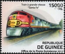 SANTA FE (ATSF) Super Chief GM EMD Diesel-Electric Train Stamp