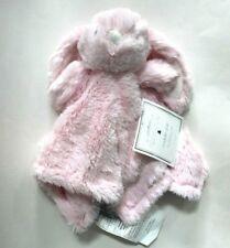 Manhattan Kids Baby Pink Bunny Fur Plush Cuddly Pal Security Blanket