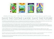 Maldives - Save The Ozone Layer Stamp -Sheet of 4 Mnh