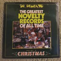 New/Sealed DR. DEMENTO Greatest Novelty Records Of All Time Vol. VI CHRISTMAS LP
