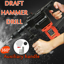 850W Electric Demolition Jack Hammer Draft Drill Impact Concrete Breaker Sets