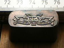 YALE  LOGO schöner Oldtimer Stempel / Siegel aus Metall
