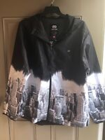 Ecko Unltd Men's Hoodie New York Black City Skyline Hooded Size 2X  New 2XL