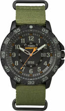 "Timex TW4B03600, Men's ""Expedition"" Green Nylon Watch, Gallatin, Indiglo"