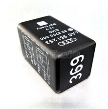 749-Audi A4 A6 (2000-2005) 6 Pin Black-369 Double Relay 4A0951253 SHO 898700000