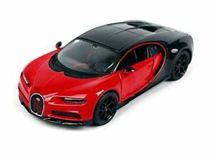 Bugatti Chiron Sport Rouge/Noir Maisto Modèle Auto 1:24