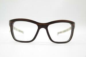 W-Eye 404-0164005 Macassar Ebony Braun oval Brille Brillengestell eyeglasses Neu