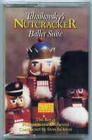 Tchaikovsky's Nutcracker cassette tape holiday favorites london 1987 NEW sealed