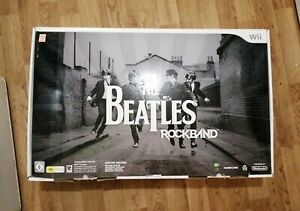 Nintendo Wii The Beatles Rock Band Limited Edition & Rock Band Original Game