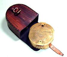 BRASS BRUNTON COMPASS LONDON 1818 VINTAGE COMPASS NICE GIFTS