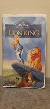 Walt Disney's The Lion King Vhs Masterpiece