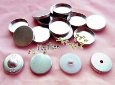 NO.40/44/50/60-100pcs Buttons - Regular or Mushroom or Flat top - Free Shipping