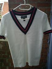 Pulls et cardigans blancs coton Ralph Lauren pour femme   eBay bdc70ad0f77
