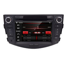 Indash Stereo Touch Car Radio DVD Player GPS Navigation For Toyota RAV4 2006-12