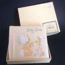 "Vintage Hallmark Baby Photo Album Brag Book Holds 20 Photos 3 1/2"" x 3 1/2"" NOS"