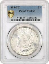 1883-CC $1 PCGS MS66+ Popular CC-Mint Issue - Morgan Silver Dollar