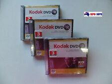 12 x DVD-R Kodak DISCS 4.7GB BRAND NEW SEALED