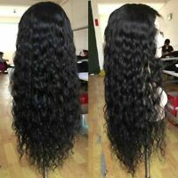 With Baby Hair Brazilian Wig Full Wigs Long Curly For Women Hair Black Synthetic