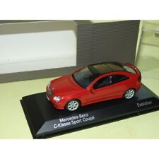 MERCEDES CLASSE C SPORT COUPE TYPE 203 Rouge MINICHAMPS 1:43