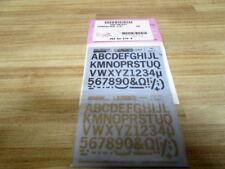 """Datak K65 Dry Transfer 1/2"""" Alphabets (Pack of 3)"""
